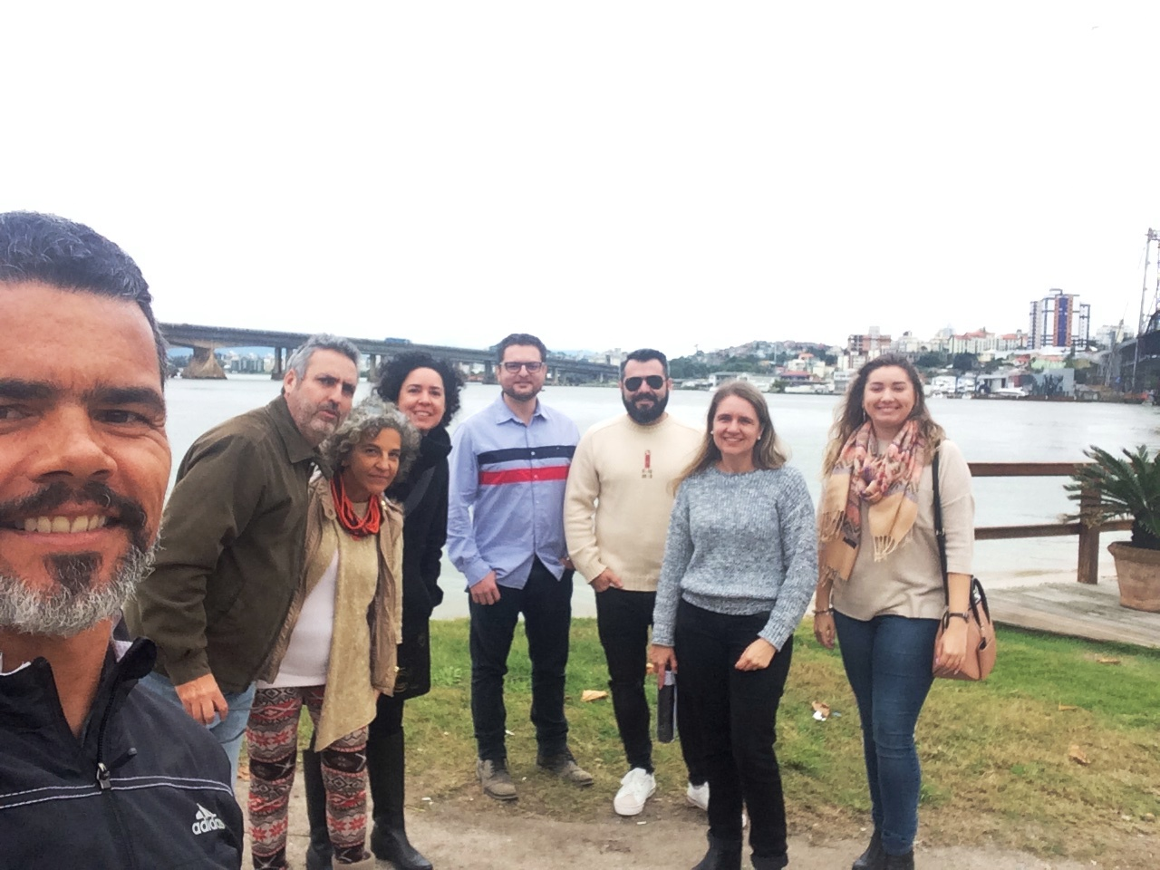 GTS visita área para projeto Travessia